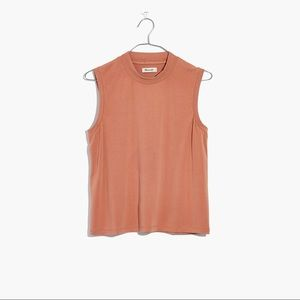 NWOT Madewell Sand-Washed Tank in Rust | M